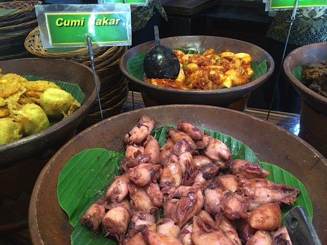 Jakarta Day2-Buffet poulpe